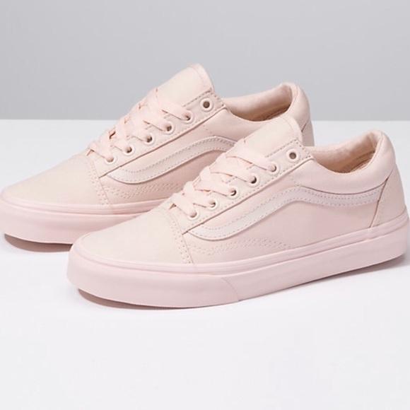 Vans Shoes | Pale Pink Old Skool Vans